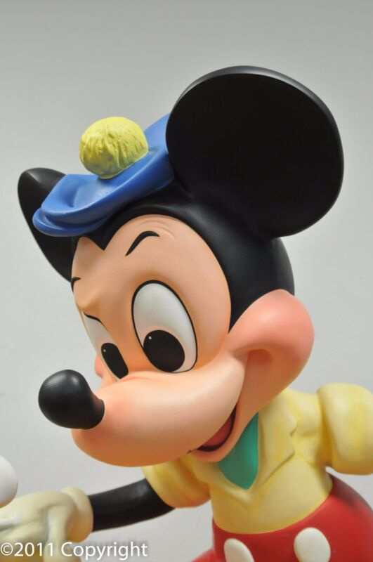 MICKEY MOUSE FROM MAGIC CARPET RIDE STRONG COLORS ORIG, FROM STEAM BOAT WILLIE