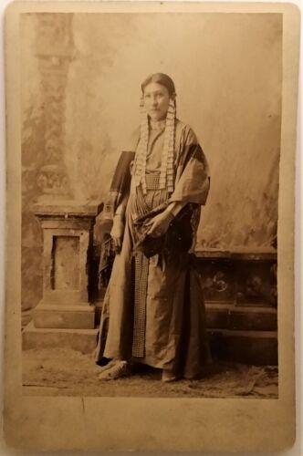 D. F. BARRY - 1880s PHOTOGRAPH - SHOOTING STAR - STANDING ROCK, DAKOTA TERRITORY