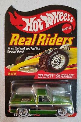 Hot Wheels RLC 2007 Real Riders  83 Chevy Silverado  #2921 Of 3000