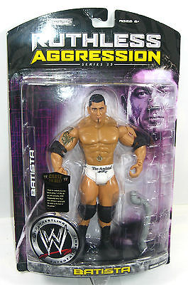 WWE RUTHLESS AGGRESSION Series 25 - Batista Actionfigur JAKKS PACIFIC Neu (L)