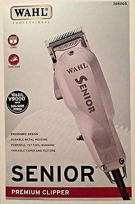 WAHL SENIOR PROFESSIONAL CLIPPER V9000 MOTOR 50% MORE POWER+TAPER LEVER #785005 for sale  West Covina