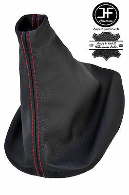 RED STITCH MNANUAL LEATHER SHIFT SHIFTER BOOT FITS PORSCHE 944 924 1982-1989