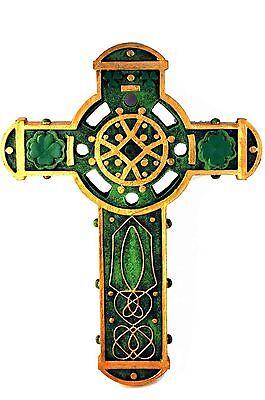 Irish Celtic Wall Cross from Gifts of Faith SKU ES560