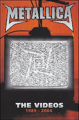 METALLICA - THE VIDEOS DVD ~ GREATEST HITS / BEST OF ~ JAMES HETFIELD