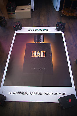 DIESEL BAD Style A 4x6 ft Bus Shelter Original Fashion Poster