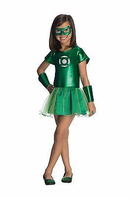 Rubies Dc Comics Green Lantern Tutu Hero Kinder Mädchen Halloween Kostüm 881631
