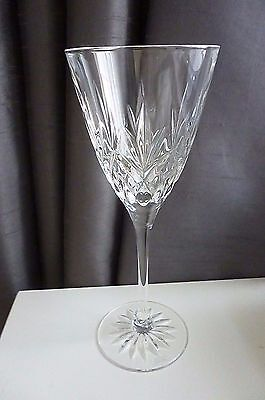 EDINBURGH Crystal - ROMEO Pattern - Wine Glass  - 19 cm Tall discontinued 2006