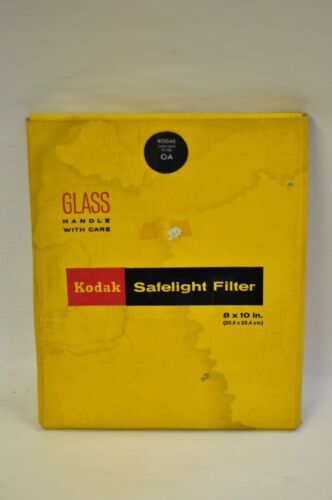 "Kodak 8x10"" OA safelight filter. NOS"