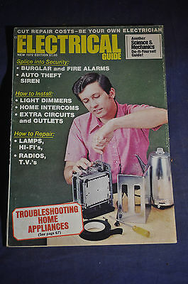 1972 Electrical Guide Magazine by Science & Mechanics