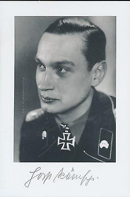 Horst Ramsch signed photo. KC Winner.