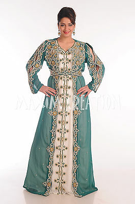 Arabic Dress For Ladies (ANCIENT ARABIC DRESS COCKTAIL PARTY GOWN TRADITIONAL LADIES KAFTAN ROBE)