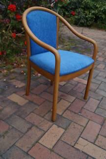 Vintage Mid Century Modern Danish Chair Armchair Unique Dining