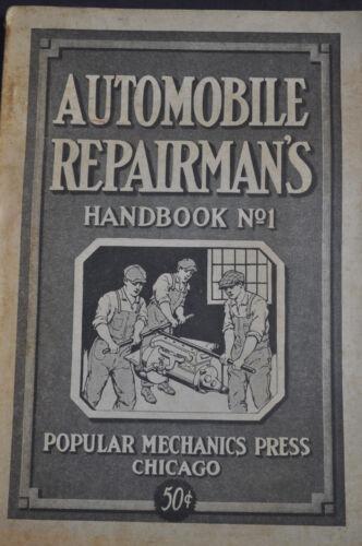 1924 Automobile Repairmans Handbook #1