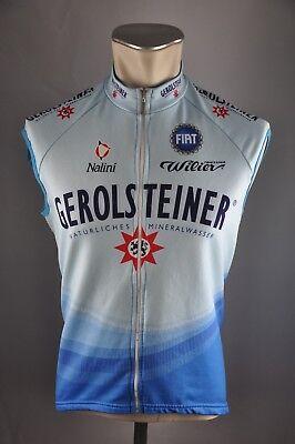 nalini Team Gerolsteiner Fothen jersey bike vest Gr 3 BW 50cm cycling Trikot  KE7 8d32e3b42