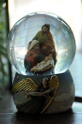 Mark Roberts Nativity Snowglobe
