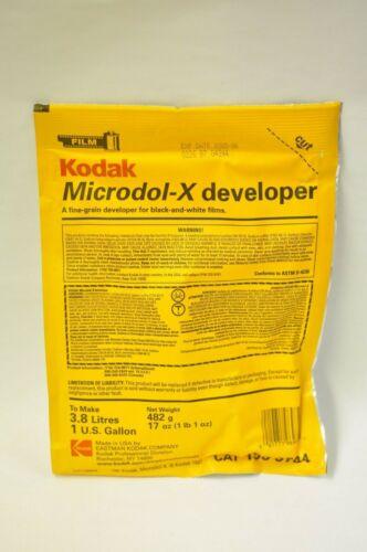 Kodak Microdol-X developer 1 gallon #196 9724. Exp. 2005/06 new old stock 2 pk