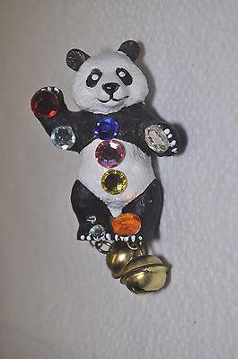 Panda Bär Strass Brosche - Bully