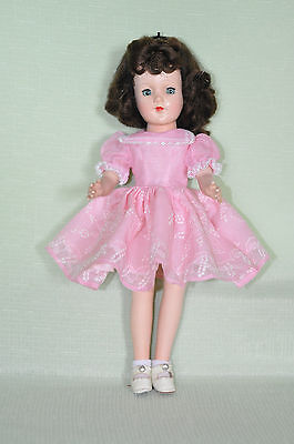 """Vintage Hard Plastic 1950s 14""""in. Mary Hoyer Doll Fully Marked"""
