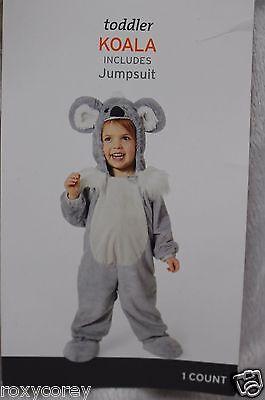 Toddler Gray & White Koala Jumpsuit Costume Size 18-24 months NWT