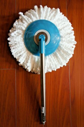 Replacement Metal Pole Bottom Part B + Mop For 360° Hurricane Magic Spin Mop
