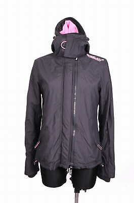 *Superdry Windcheater Womens Jacket Black size M