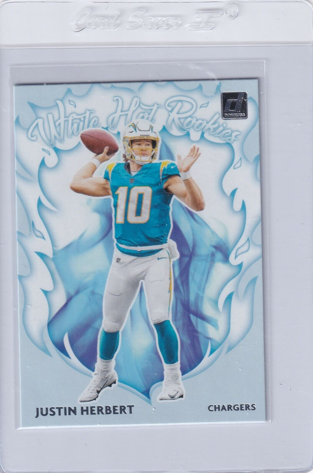 Justin Herbert 2020 Donruss White Hot Rookies Wh Jh Chargers Rc Sportscards Com