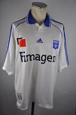 AJ Auxerre Home Trikot Gr. XL 1998-1999 Adidas vintage jersey 90s Fimagen #9 image