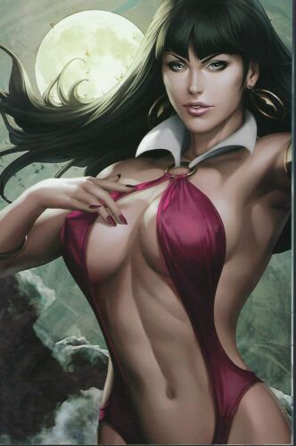 Vampirella # 3 Artgerm 1 in 25 Sneek Peek Virgin Variant Cover  !!   VF/NM