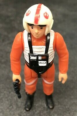 Vintage Star Wars Figure Luke Skywalker (X-Wing Pilot) - 1977 - (100% Original)