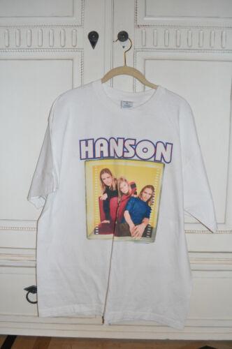 RARE OFFICIAL Hanson 1997 Shirt Size X-LARGE!