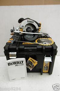 DEWALT XR 18V DCS391 165MM CIRCULAR SAW BARE UNIT + DEEP TSTAK CASE