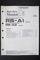 Pioneer Rs-a1 Rs-a2 Digitale Reference Sistema Manuale Di Servizio/ - pioneer - ebay.it