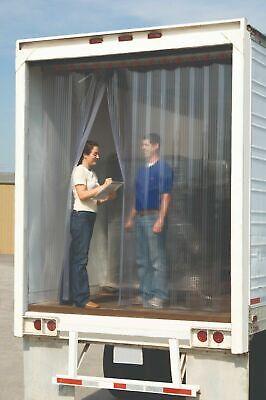 9 X 7 Strip Curtain Door Racing For Utility Trailer 108 X 84 Race Work Pvc