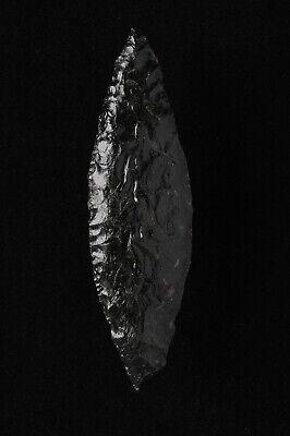 Cascade Bi-Pointed Leaf Knife Blade, Modoc County, California, Paleo (Leaf Cascade)