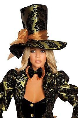 Tea Party Tease Hatter Costume ROMA 4154 NEW 4pc, plus Boot Enhancements, M/L - Tea Party Costume