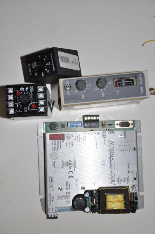Automated logic corporation AEG SIM203 Regent Controls Solid State Timer