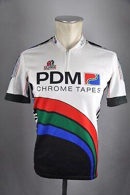 PDM Ultima Team vintage Trikot Gr. 3 M BW 50cm Bike cycling jersey Shirt BC2 0f9ceca87