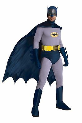 Adult Batman Costume Classic Batman TV Show 1966 Adam West Standard & XL Bx393