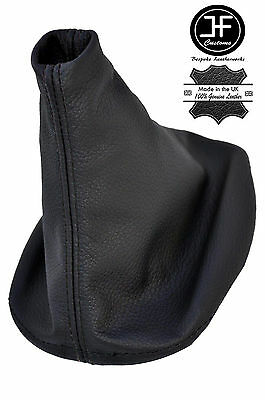 BLACK STITCH MNANUAL LEATHER SHIFT SHIFTER BOOT FITS PORSCHE 944 924 1982-1989