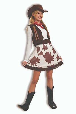 Forum Novelties Western Cowgirl Rancher Mädchen Kinder Halloween Kostüm 63604