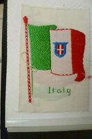 B.d.v. Cigarettes Silk Flag- Italy Flag Embroidery Silk (6.5x4 Cm) - godfrey phillips/ bdv - ebay.co.uk