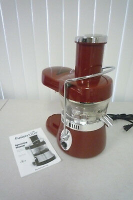 New No Box Fusion MT-1020-1 Juicer Fusion Juicer No Pulp Collector, used for sale  Bonita Springs