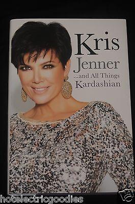 Kris Jenner   All Things Kardashian Signed Autographed Book Kim Khloe   Coa