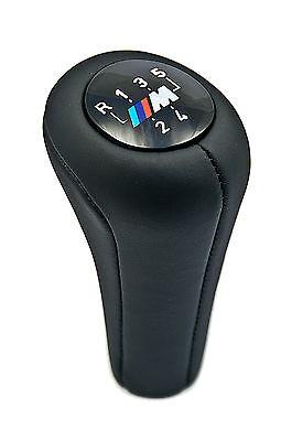 BMW Genuine M Gear Stick Knob Leather Black E36/E39/E46 3/5 Series 25117503231