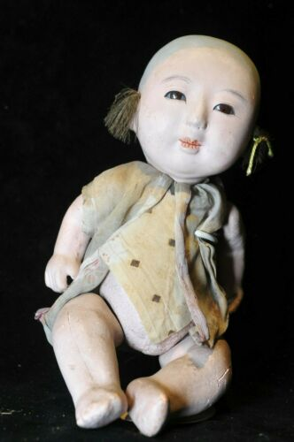 ANTIQUE JAPANESE BABY BOY DOLL