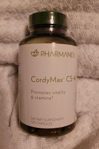 Nu Skin Pharmanex CordyMax Cs-4, 120 Capsules, Exp 10/2021 Brand new sealed