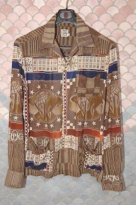 Jpg Vintage Long Sleeve - Jean Paul Gaultier Vintage JPG Long Sleeve Shirt-Jacket, New, Mint, Size XL