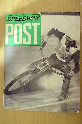 SPEEDWAY POST- Vol. 1,No.8, February 1965- I WOULD LIKE TO SEE............