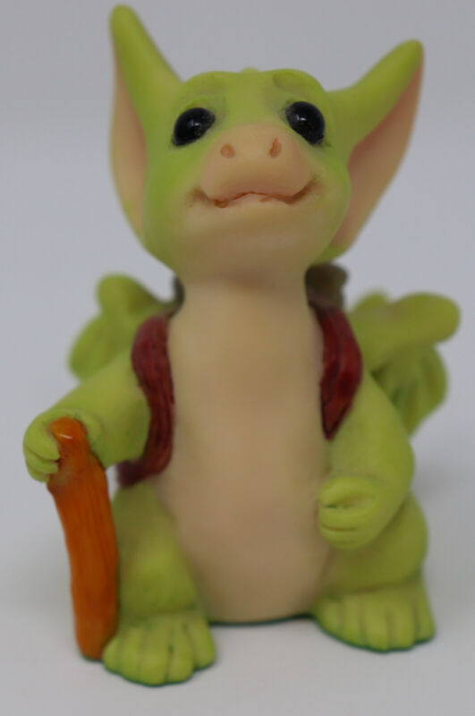 1996 Whimsical World of Pocket Dragons by Real Musgrave ~ On the Road Again ~