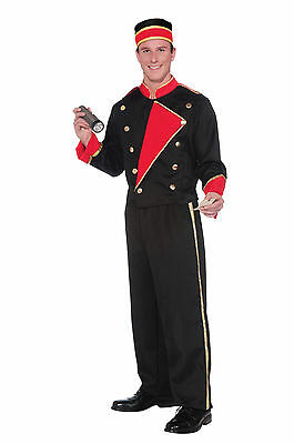 Movie Usher Costume (Adult Vintage Hollywood Movie Usher Costume,)